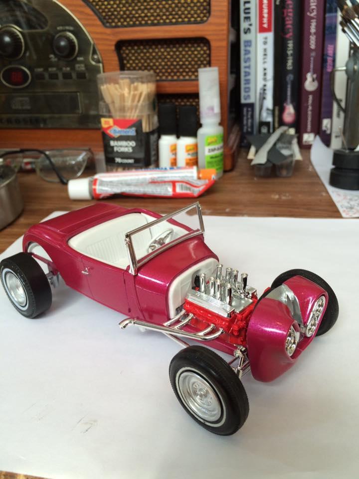 Vintage built automobile model kit survivor - Hot rod et Custom car maquettes montées anciennes - Page 5 13307211