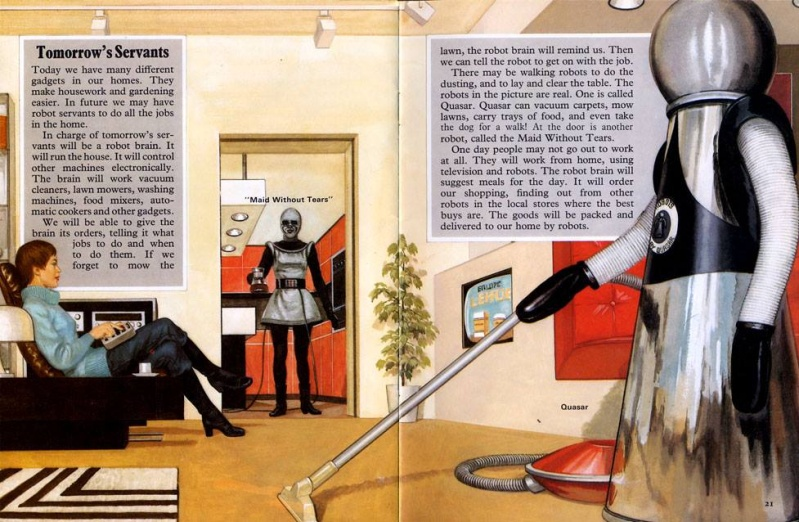 Futuristic & Atomic Robot - Robots futuristes & rétro 13323310