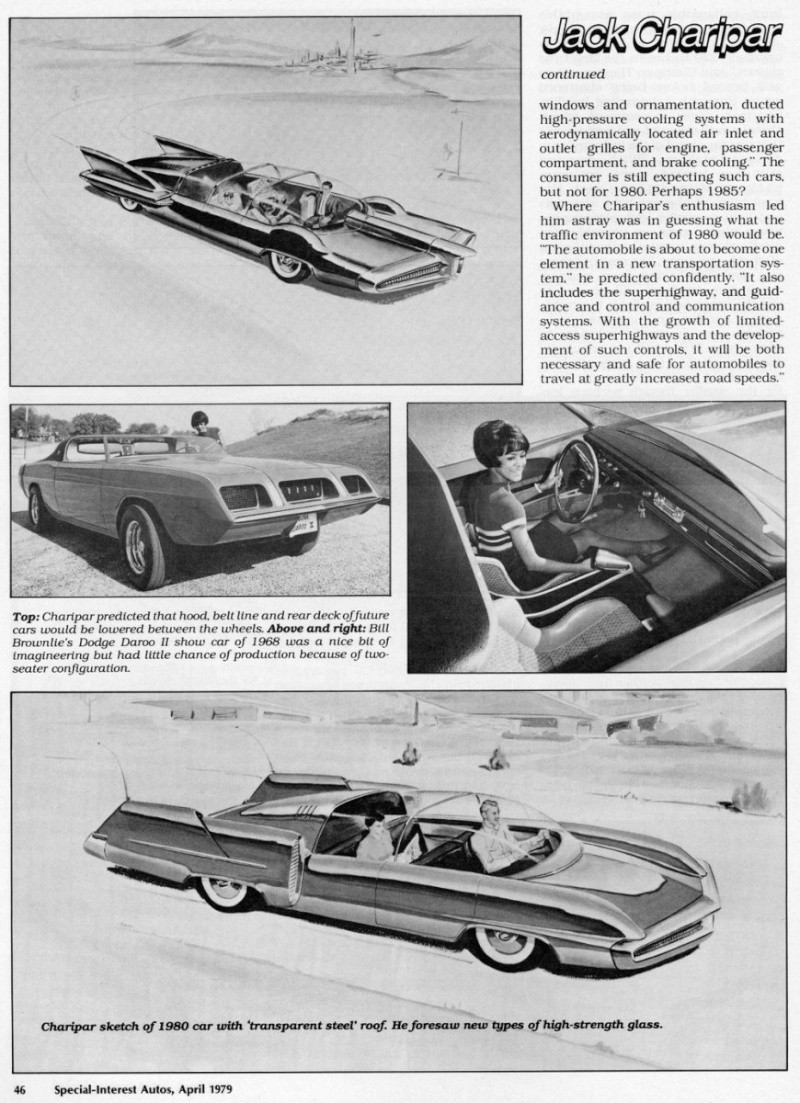 Jack Charipar: Chrysler's Imagineering Prophet 326