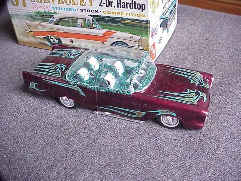 Vintage built automobile model kit survivor - Hot rod et Custom car maquettes montées anciennes - Page 5 536