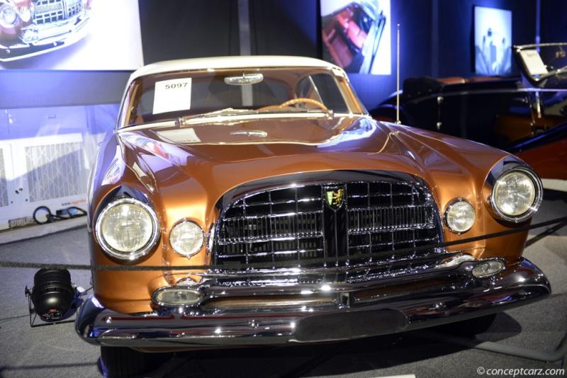 1954 - 1955 Chrysler ST Special (Ghia) 55-chr10