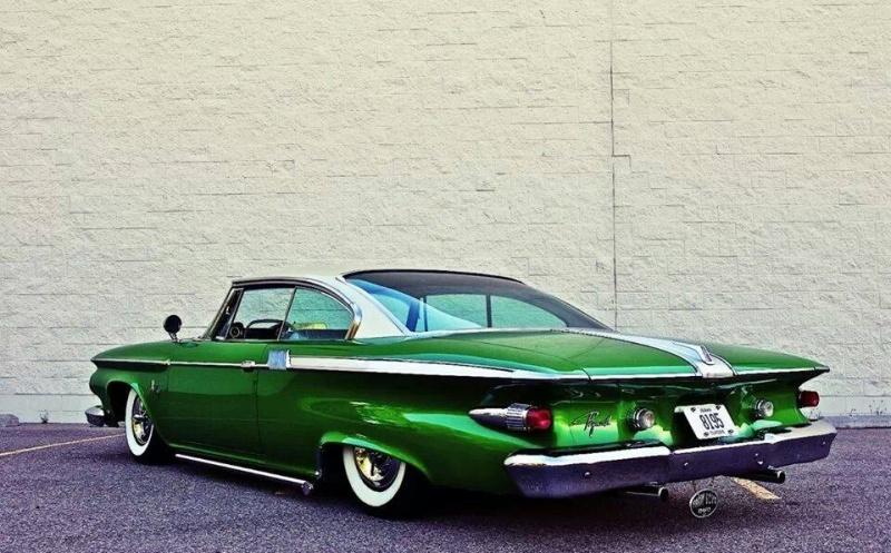 Dodge & Plymouth 1960 - 1961 custom & mild custom 73415010