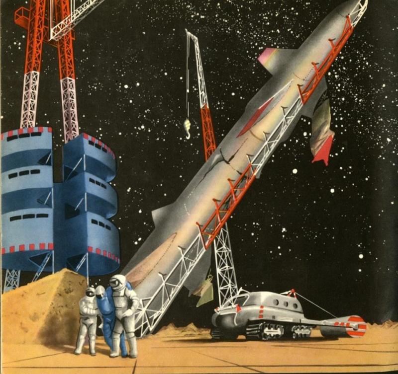 Teodor Rotreckl  - Six Days on Luna One (USSR, 1965) 94387310