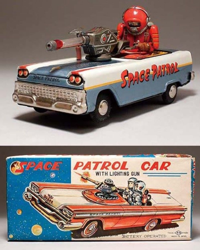 Jouets Spaciaux - Sci-Fi Toys _5714