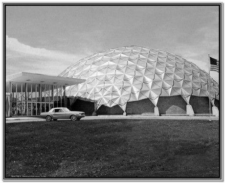 Architectures de banques et bureaux vintages - 1950's & 1960's Office & Bank  B9ccd110