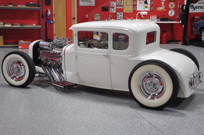 1930 Ford Model A Coupe - Jesse James & The Austin Speed Shop Driver12