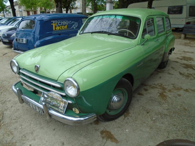 Renaults Frégate et voitures anciennes à Nerac (47) Dsc02110