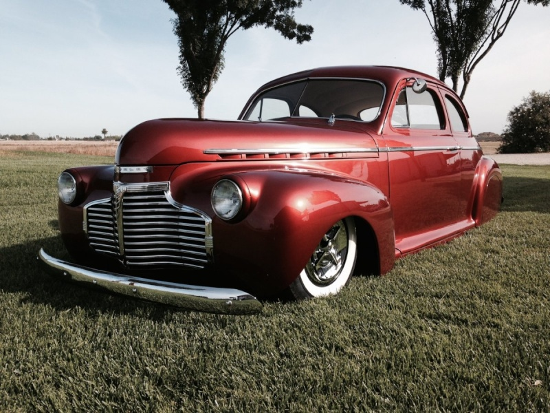 Chevy 1940 - 45 custom & mild custom Image110