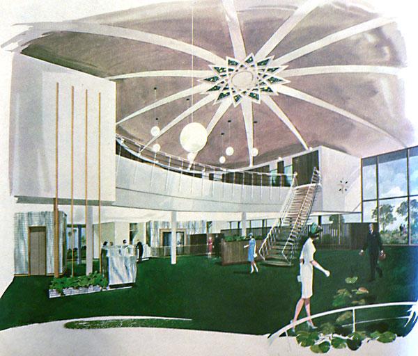 Architectures de banques et bureaux vintages - 1950's & 1960's Office & Bank  Interi11
