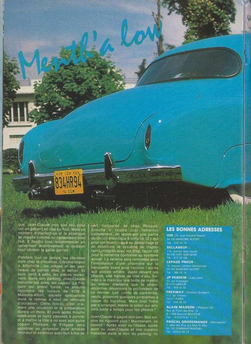 Renault Frégate custom Mental12