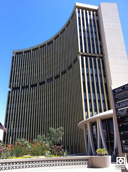 Architectures de banques et bureaux vintages - 1950's & 1960's Office & Bank  Phxfin12