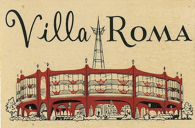 the Villa Roma - San Fransisco - 1962 Roma0310