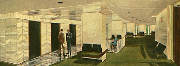Architectures de banques et bureaux vintages - 1950's & 1960's Office & Bank  Toweri10