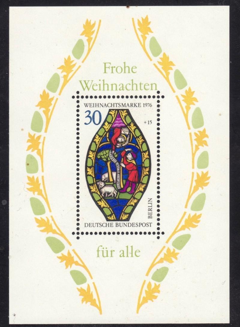 Briefmarkenblocks der Deutschen Bundespost Berlin Bl5a10