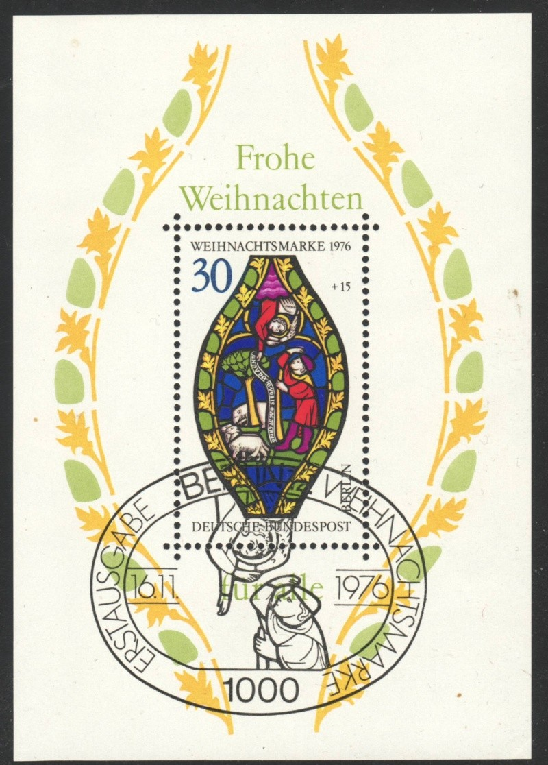Briefmarkenblocks der Deutschen Bundespost Berlin Bl5b10
