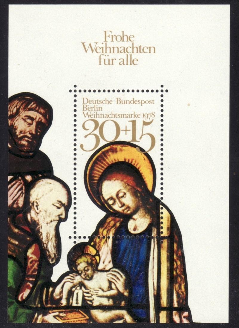 Briefmarkenblocks der Deutschen Bundespost Berlin Bl7a10