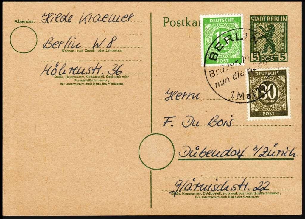 Berlin - Brandenburg (OPD Potsdam) -Sowjetische Besatzungszone- Gsk3b10