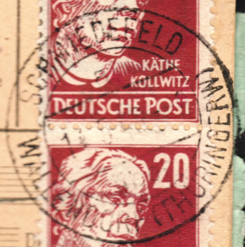 1945 - Deutschland  -  Landpoststempel (Poststellenstempel) - Seite 2 Ort110