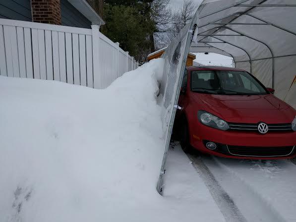glace sur le toit de la roulotte - Page 2 Neige110