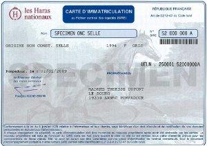 Acquisition d'un équidé -> Documents Immat10