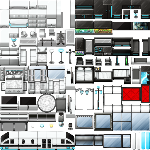 Tileset de train Futuri10