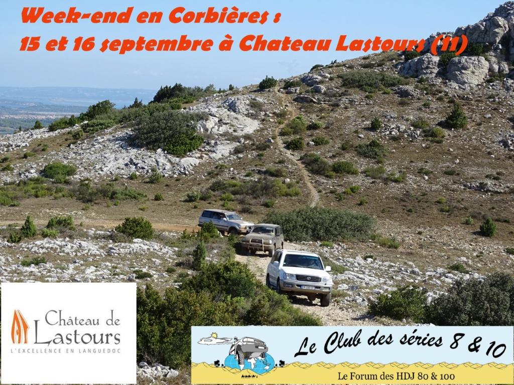 Week-end en Corbières du 15 au 16 septembre à Chateau Lastours (11) Affich10