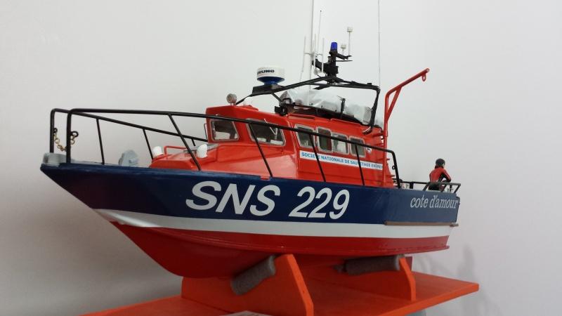 Vedette de sauvetage SNS 229 Côte d'Amour sur plan au 1/20è - Page 5 20160610