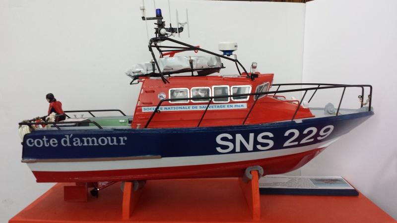 Vedette de sauvetage SNS 229 Côte d'Amour sur plan au 1/20è - Page 5 20160614