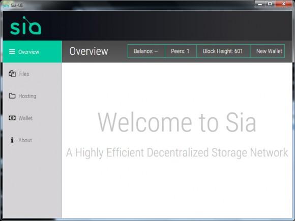 Сервис хранения данных Sia Sia110