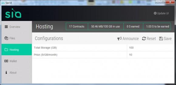 Сервис хранения данных Sia Sia310