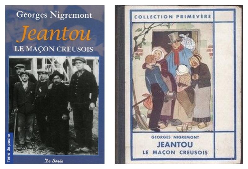 Georges Nigremont : Jeantou le maçon Creusois 51sozu11