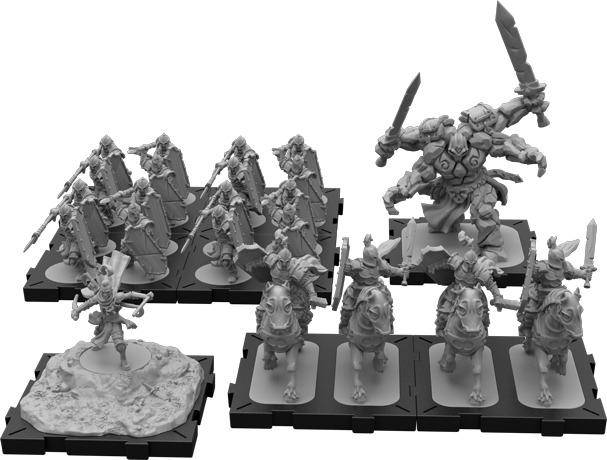 figurines du jeu Runes Wars, la mise en peinture va bientôt démarrer!!!!! Runewa10