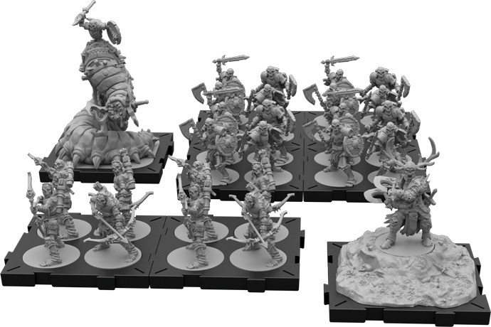 figurines du jeu Runes Wars, la mise en peinture va bientôt démarrer!!!!! Runewa11