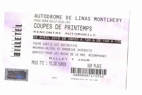 L'autodrome de Linas-Montlhéry Billet11