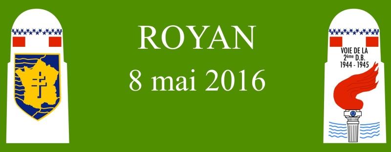 Borne du serment de Koufra: ROYAN (17) Bandea11