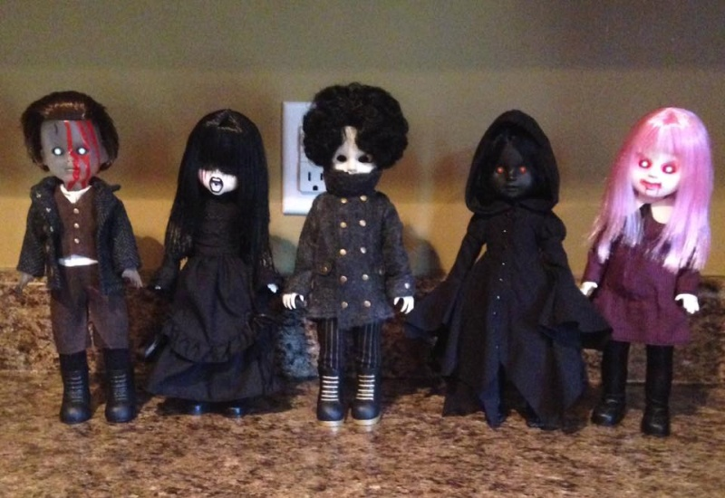 Living Dead Doll Series 31 - Case of 5 Don't Turn Out The Lights 13332810