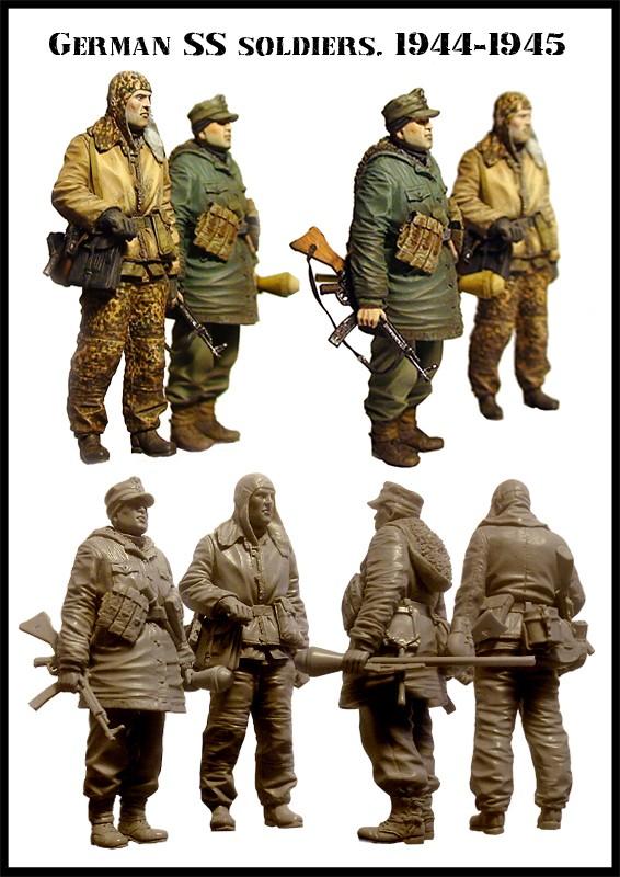 « là-bas » 6ème figurines 1/35ème 2711