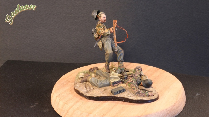 """Killed in action"" 1/35 Jaguar terminé Intern10"