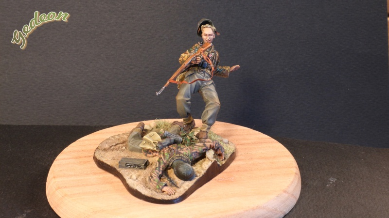 """Killed in action"" 1/35 Jaguar terminé Intern12"