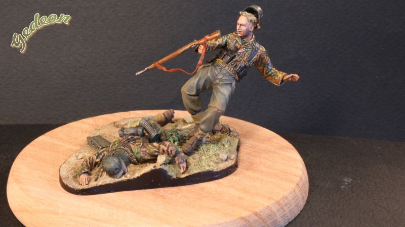 """Killed in action"" 1/35 Jaguar terminé Intern13"