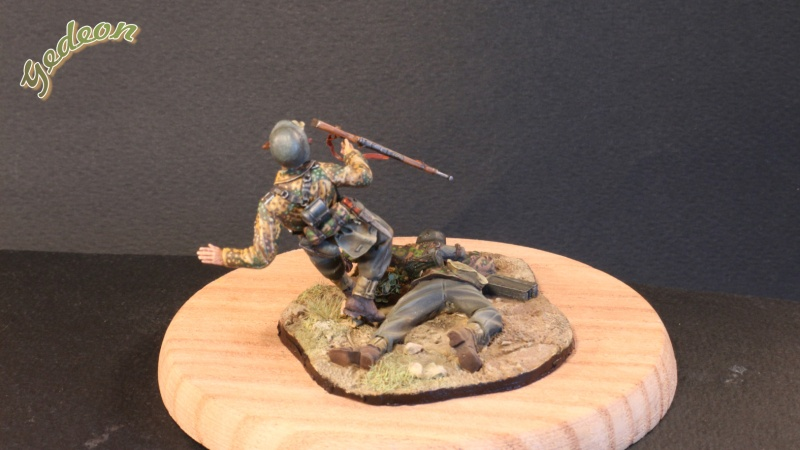 """Killed in action"" 1/35 Jaguar terminé Intern14"