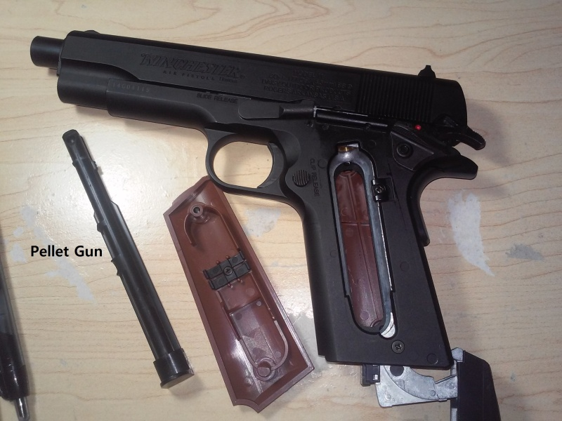 1911 Winchester Pellet Gun 02261610