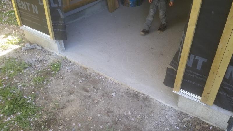Construction d'un atelier en ossature bois ! - Le Bardage ! - Page 3 1010