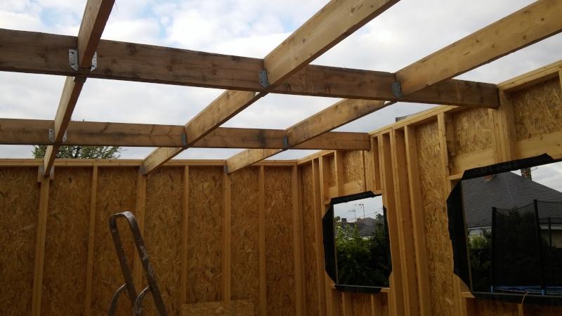 Construction d'un atelier en ossature bois ! - Le Bardage ! - Page 3 111