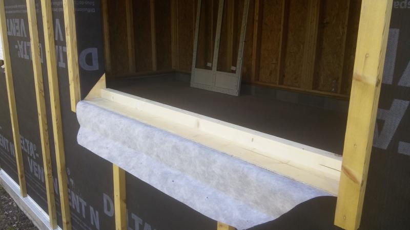 Construction d'un atelier en ossature bois ! - Le Bardage ! - Page 3 112