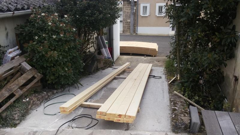 Construction d'un atelier en ossature bois ! - Le Bardage ! 20160310