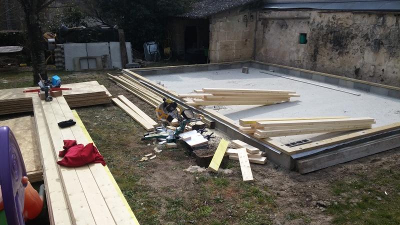 Construction d'un atelier en ossature bois ! - Le Bardage ! 20160313
