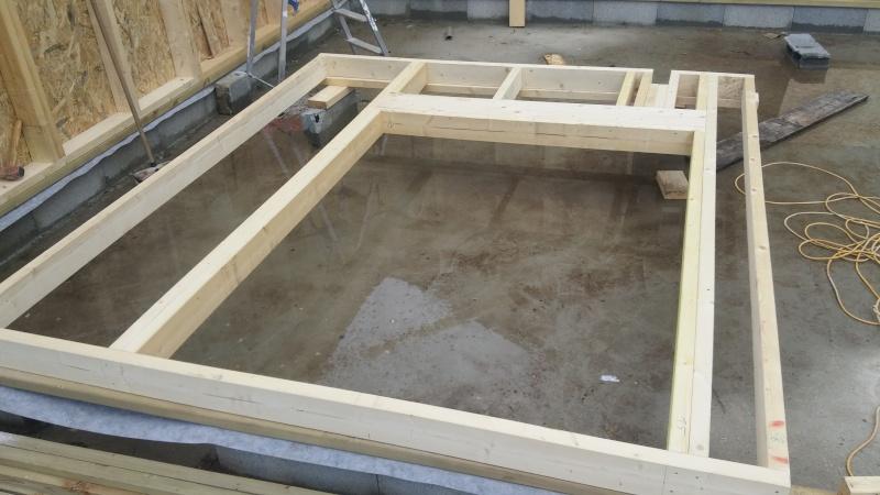 Construction d'un atelier en ossature bois ! - Le Bardage ! 20160314