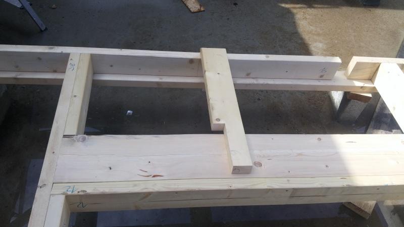 Construction d'un atelier en ossature bois ! - Le Bardage ! 20160315