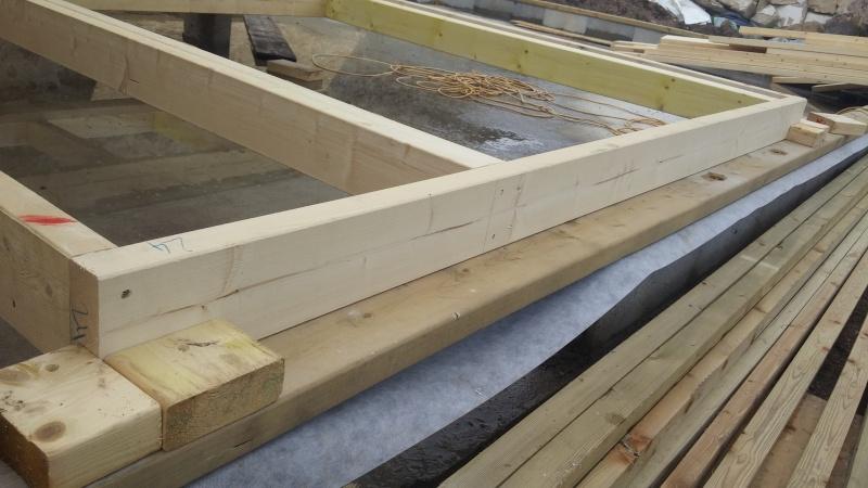 Construction d'un atelier en ossature bois ! - Le Bardage ! 20160316